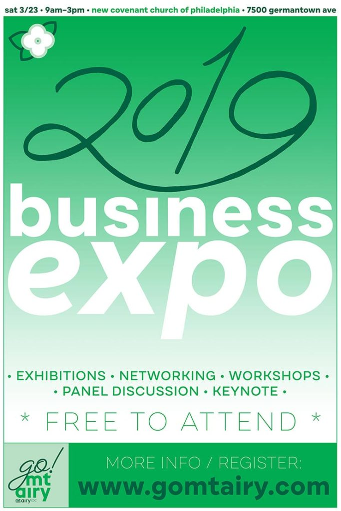 business expo poster