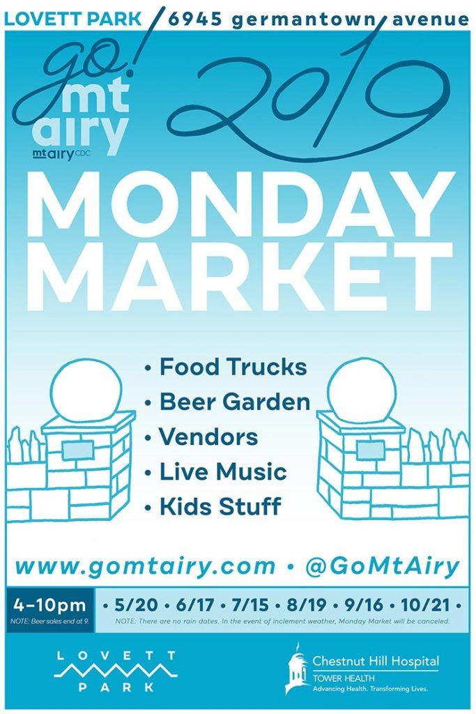 monday market poster